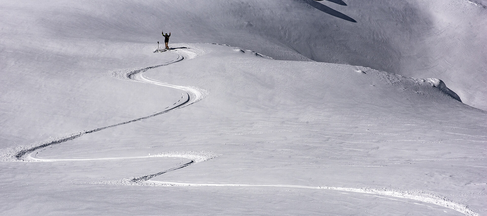Whistler private heli-skiing